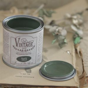 Dusty Olive 100 ml Vintage Paint Jeanne d'Arc Living
