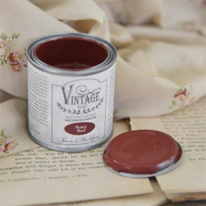 Rusty Red 100 ml Vintage Paint Jeanne d'Arc Living